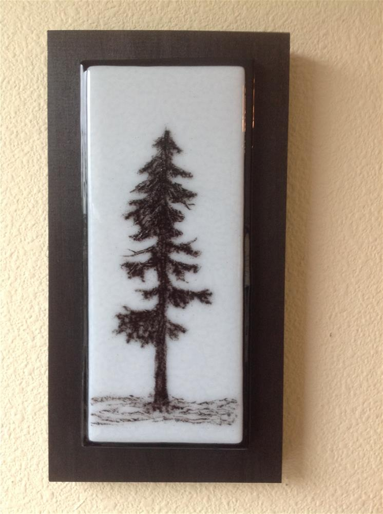 """NW Tree #2"" original fine art by Calloway Meiners"