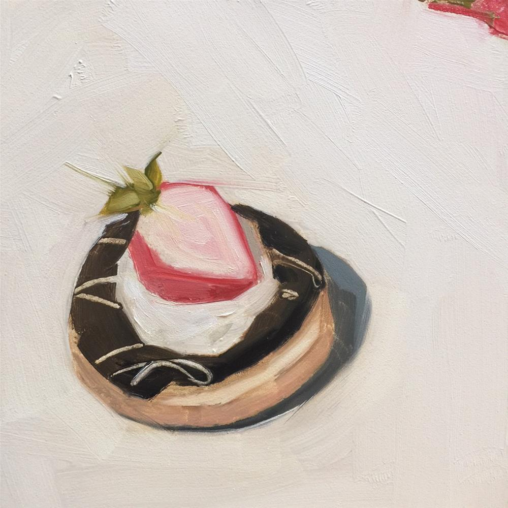 """351 Beauty of a Donut"" original fine art by Jenny Doh"