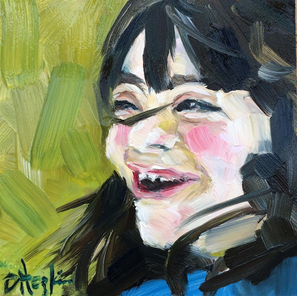 """Molly"" original fine art by Denise Hopkins"