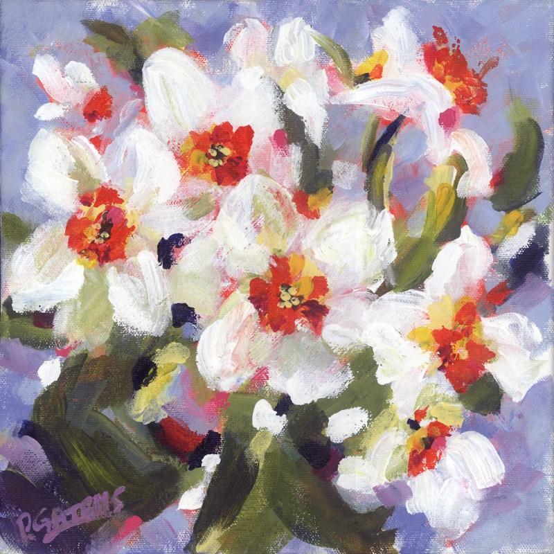"""Suddenly it's Spring"" original fine art by Pamela Gatens"
