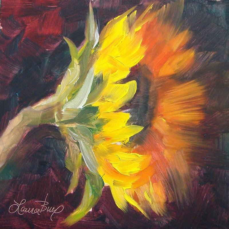 """Happy 196"" original fine art by Laura  Buxo"