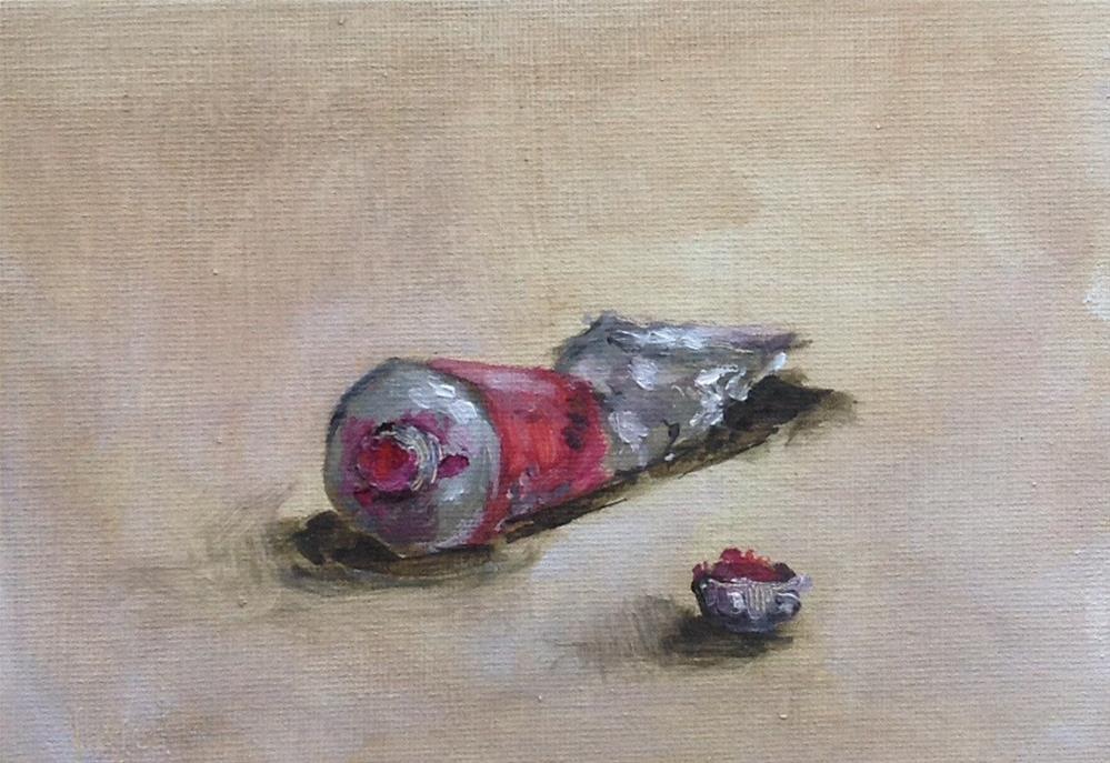 """Rose madder #562"" original fine art by Heidi Shedlock"