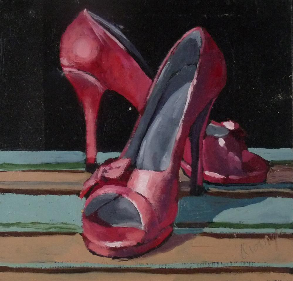 """Pretty in Pink"" original fine art by Sharman Owings"