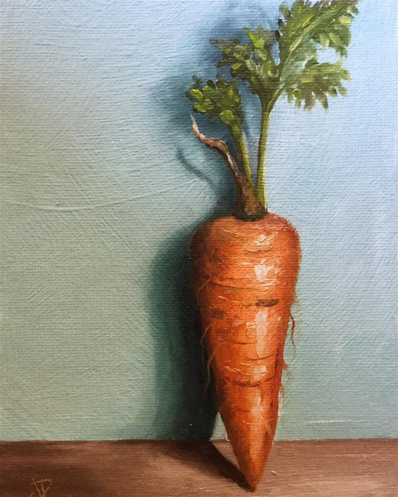 """Carrot"" original fine art by Jane Palmer"