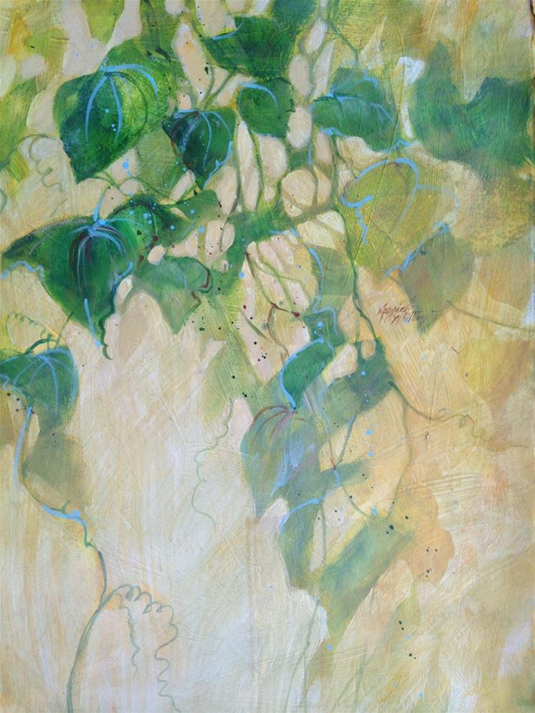 """Window Ivy"" original fine art by Margie Whittington"