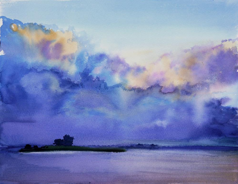 """clouds"" original fine art by Beata Musial-Tomaszewska"