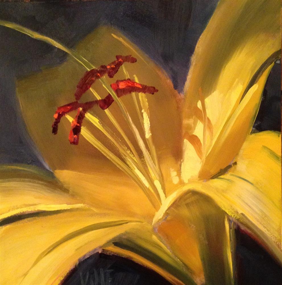"""#159 August Color"" original fine art by Patty Voje"