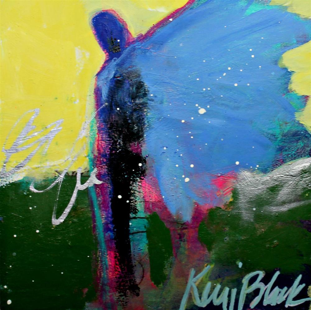 """Watching "" original fine art by Kerri Blackman"