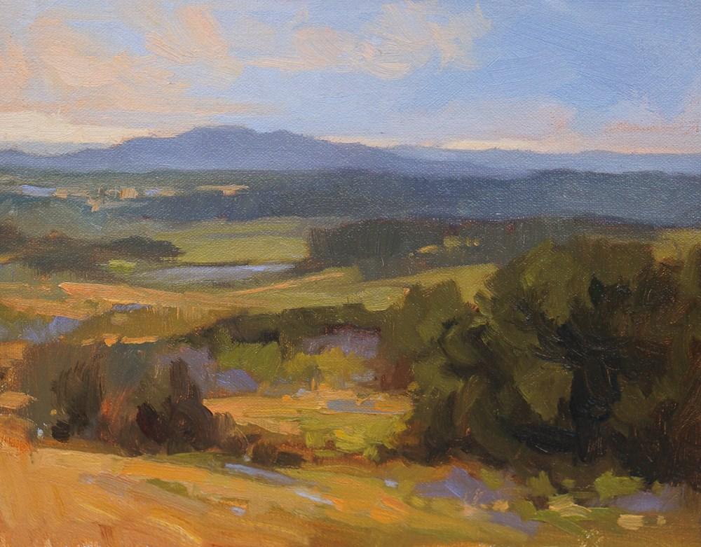 """""""Lançon de Provence"""" original fine art by Liz Wiltzen"""