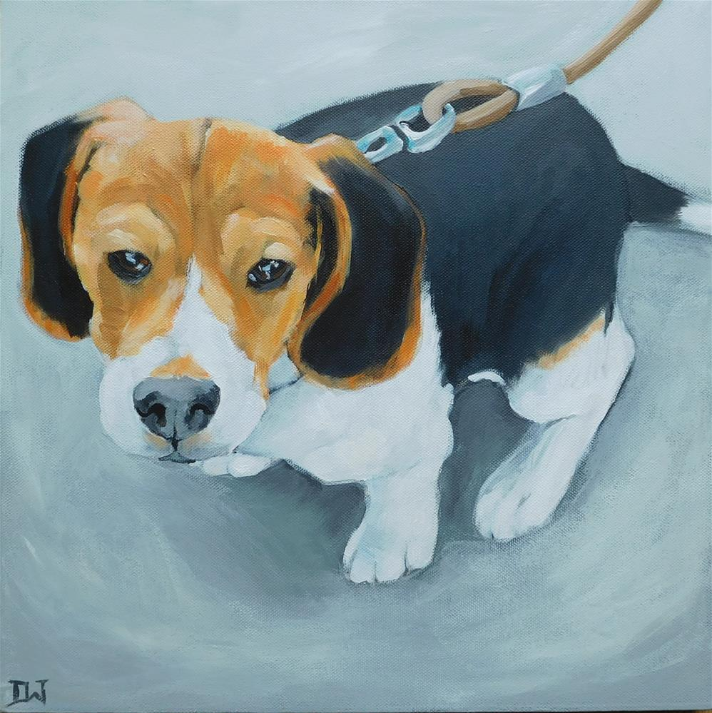 """Beagle"" original fine art by Daryl West"