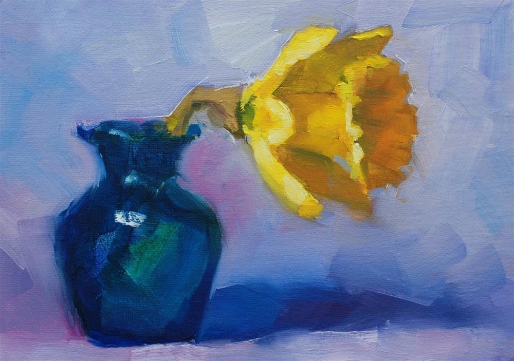 """""""No. 782 Solo Mio"""" original fine art by Susan McManamen"""