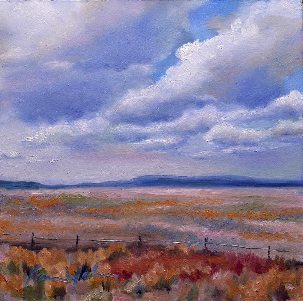 """Colorado"" original fine art by Karen Weber"
