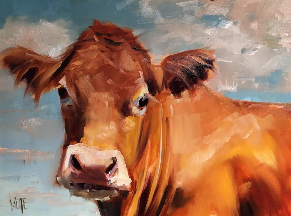 """""""#432 Lazy Sunday"""" original fine art by Patty Voje"""