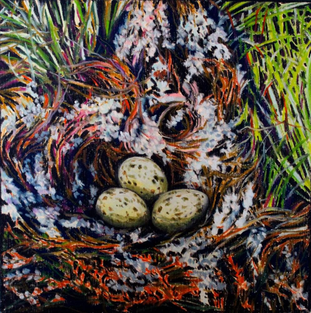"""""""The Gull's Nest"""" original fine art by Jill Bates"""