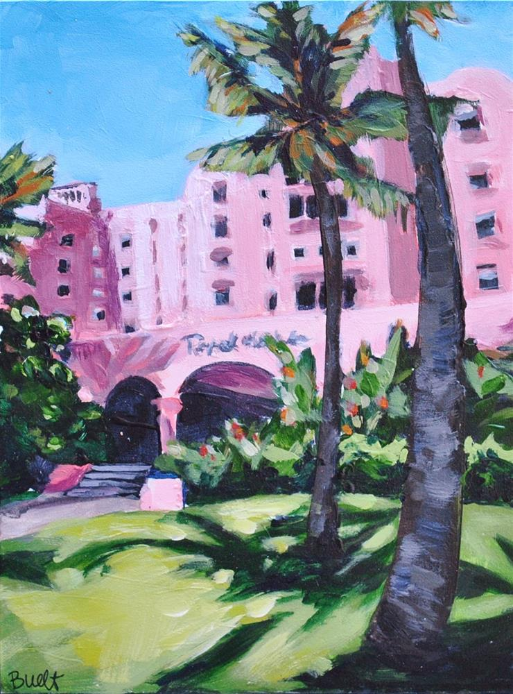 """Royal Hawaiian"" original fine art by Shari Buelt"