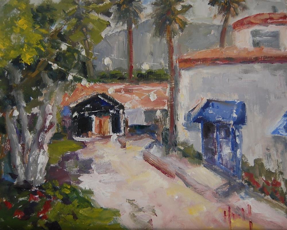 """""""La Quinta"""" original fine art by Deborah Harold"""