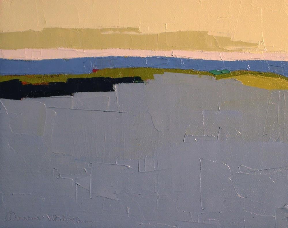 """""""Seaview III"""" original fine art by Donna Walker"""