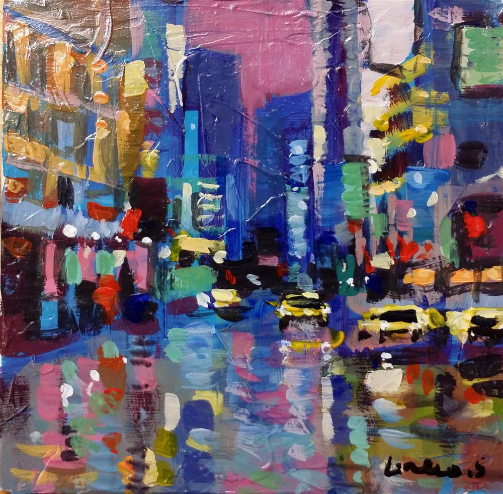 """New-York #6"" original fine art by salvatore greco"