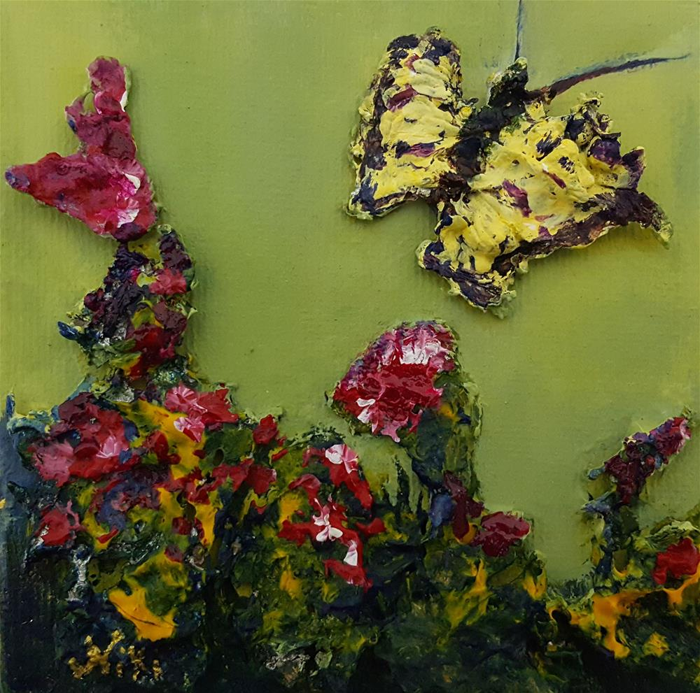 """Mini-Butterfly 2"" original fine art by Niki Hilsabeck"