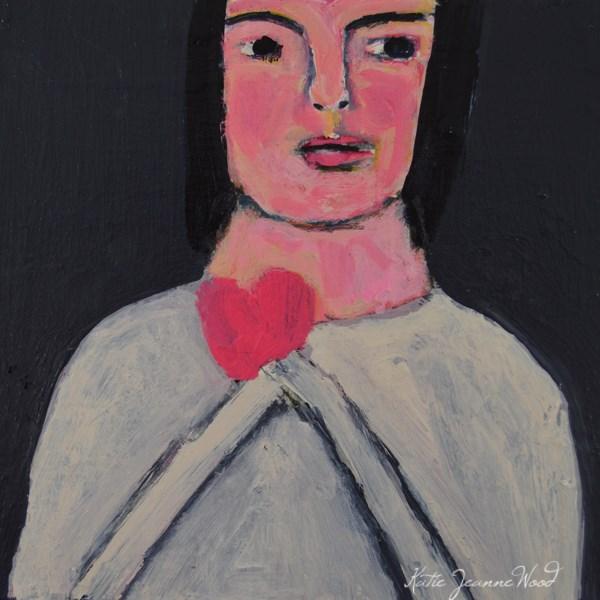 """""""Guarding Her Love"""" original fine art by Katie Jeanne Wood"""