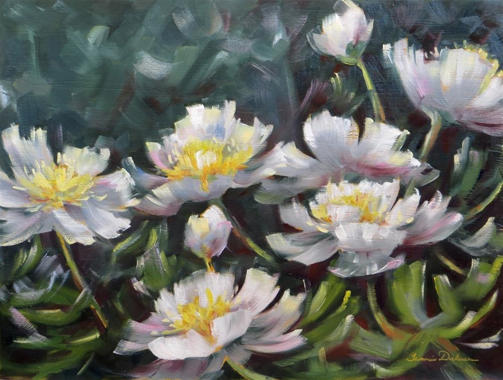 """A Dream of White Peonies"" original fine art by Tammie Dickerson"