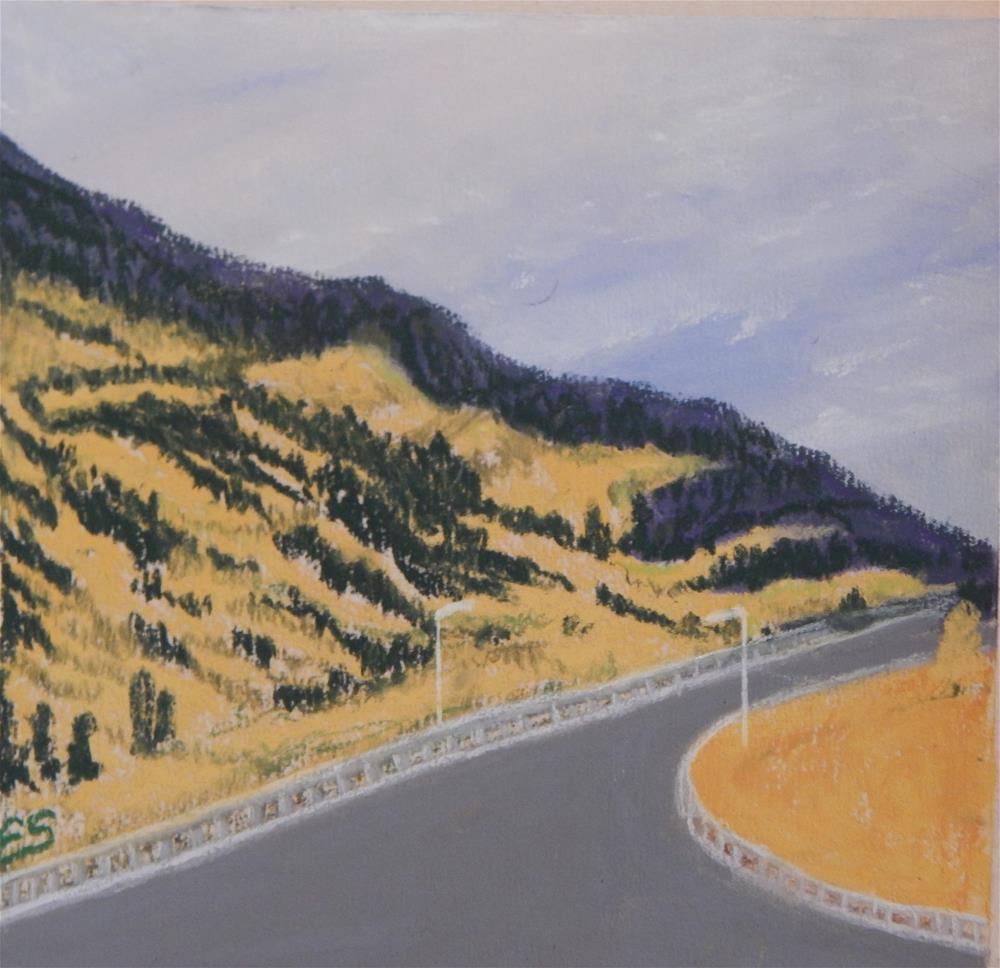 """""""Colorado Aspen"""" original fine art by Elaine Shortall"""
