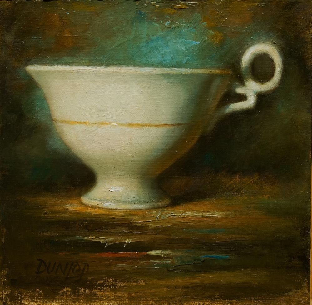 """Teacup #6"" original fine art by Bobbi Dunlop"