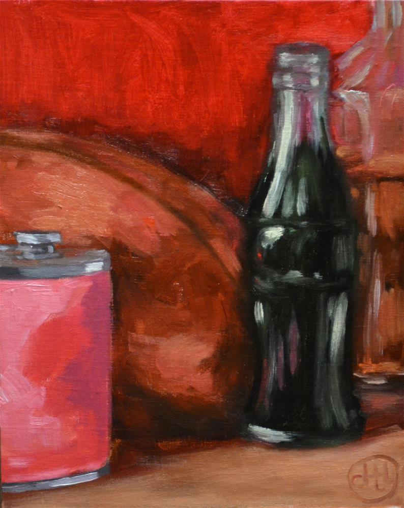 """gameday contraband"" original fine art by Dottie  T  Leatherwood"