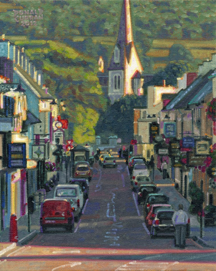 """Kenmare, Ireland"" original fine art by Donald Curran"