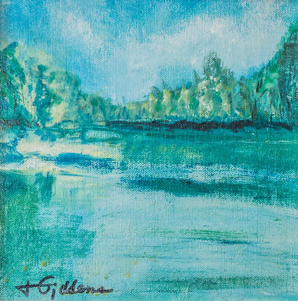 """Summer's Swell I"" original fine art by Jeri Giddens"