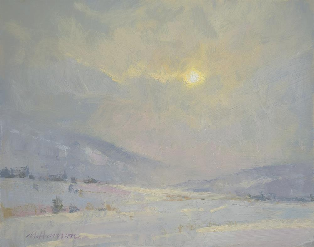 """2-5-4 Sundown"" original fine art by Marc Hanson"