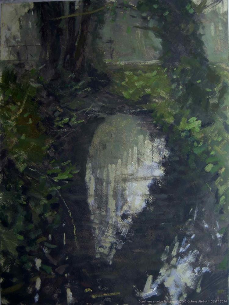 """Vicarsdidge. Hummelo, the Netherlands"" original fine art by René PleinAir"