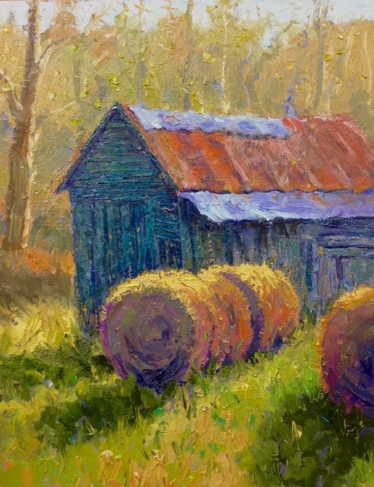 """""""Afternoon Sun"""" original fine art by Doug Gorrell"""