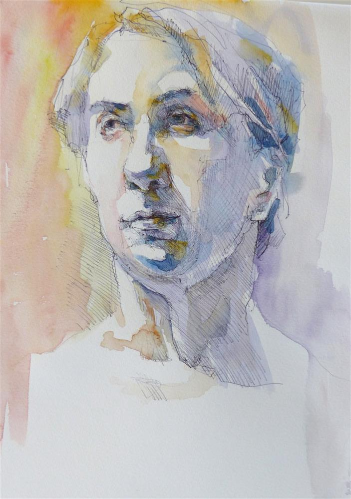 """sketchbook12"" original fine art by Katya Minkina"