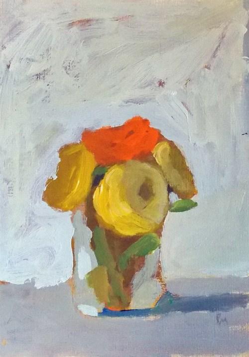 """One Orange"" original fine art by Pamela Munger"