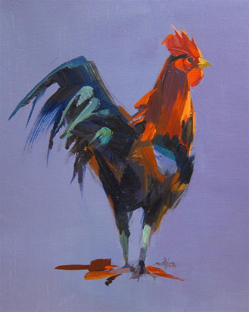 """""""Festive Fowl"""" original fine art by Patti Mollica"""