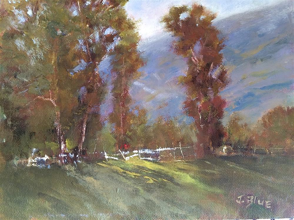 """Along Mulholland"" original fine art by Jacquelyn Blue"