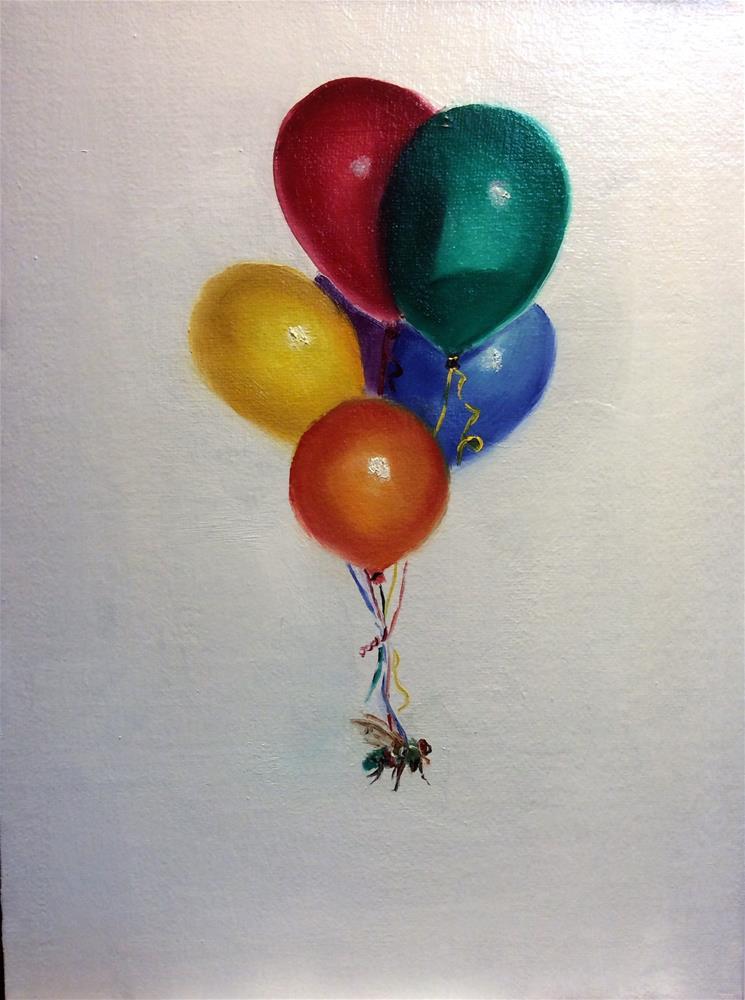 """""""Everybody Needs A Little Help Sometimes"""" original fine art by Susan Hoffheimer"""