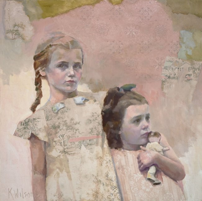 """Big Sis"" original fine art by Katie Wilson"