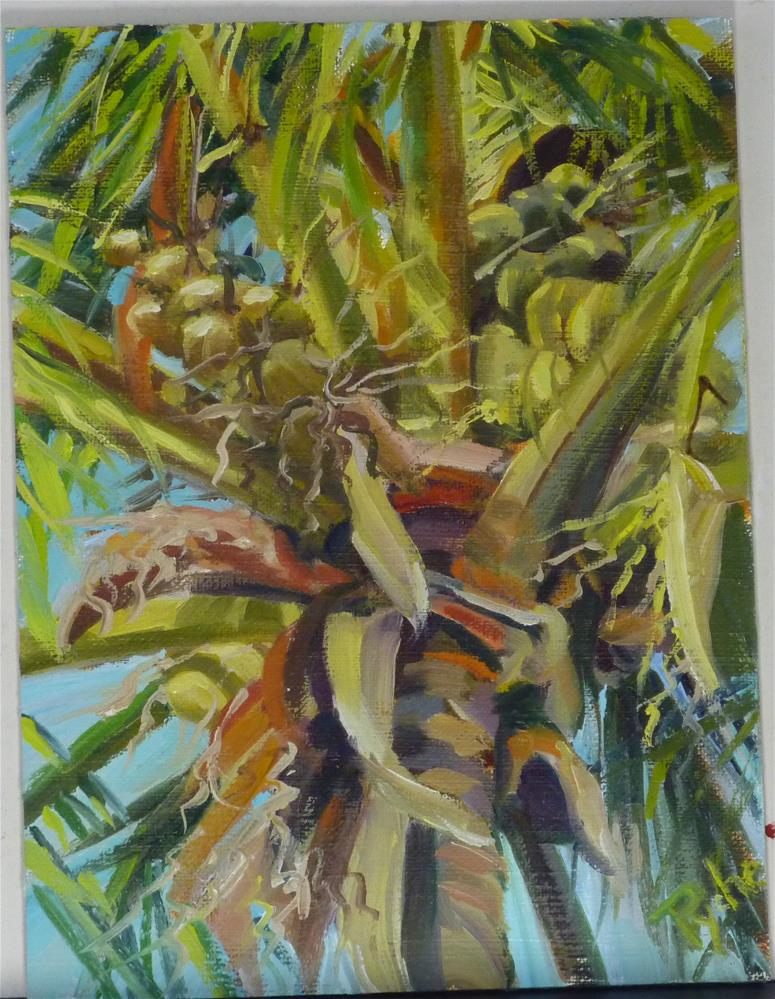 """Florida the Beautiful"" original fine art by Mary Pyche"