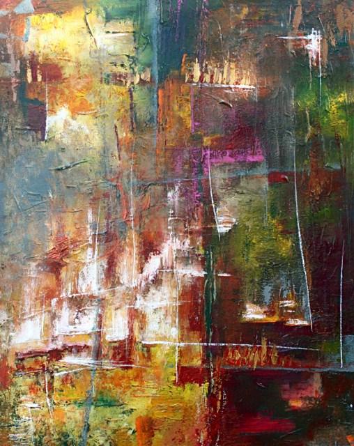 """Lavish"" original fine art by Elizabeth Chapman"