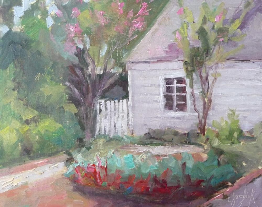 """Mary's Garden"" original fine art by Carol Josefiak"