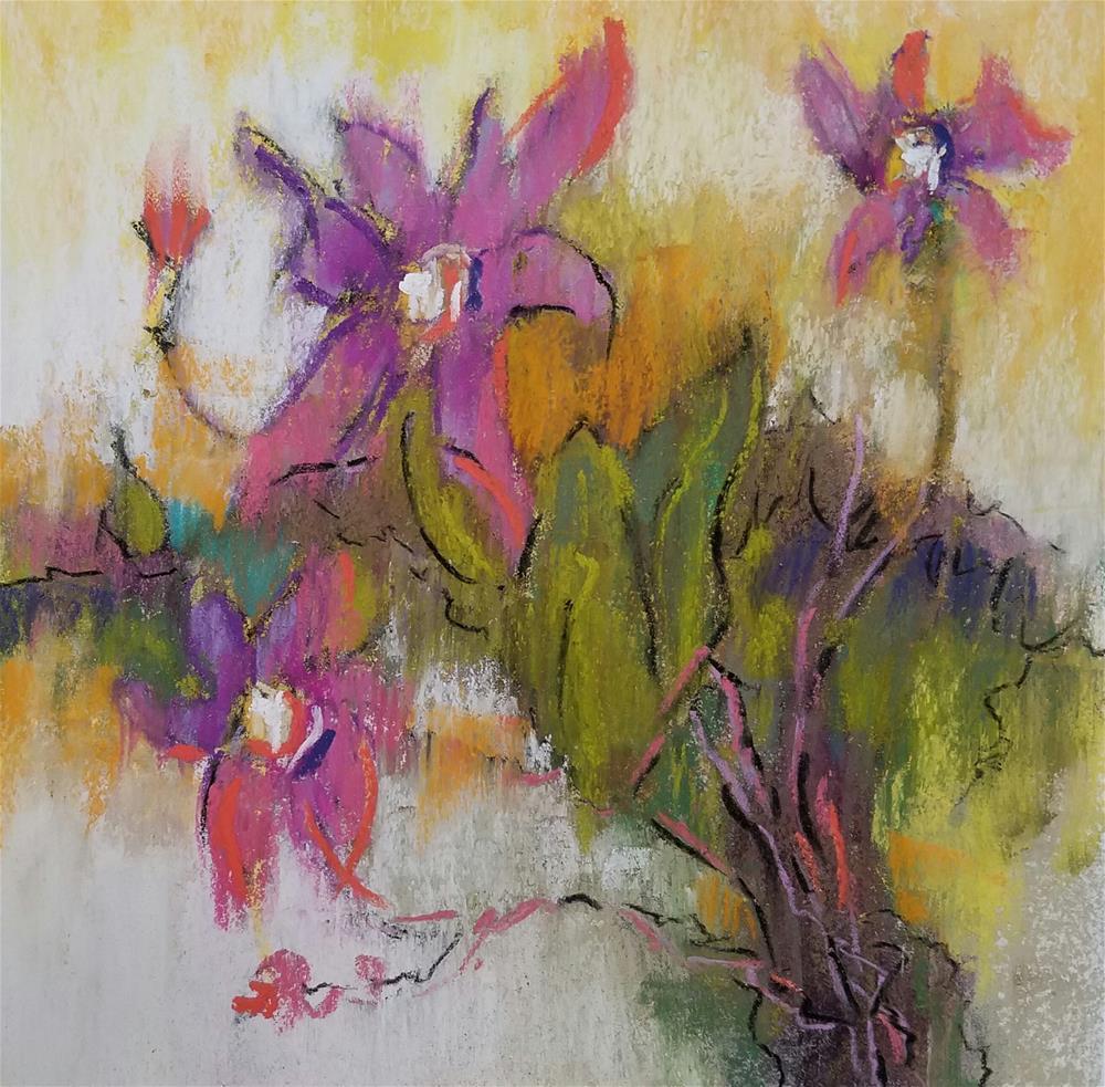 """Wild at Heart"" original fine art by Cindy Haase"