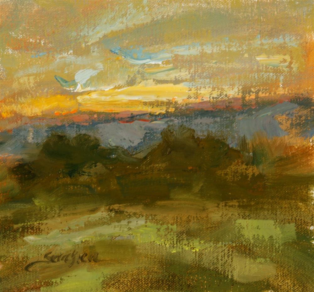 """""""Last Light"""" original fine art by Scott Serafica"""