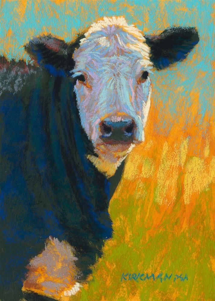 """Ham [Burger]"" original fine art by Rita Kirkman"