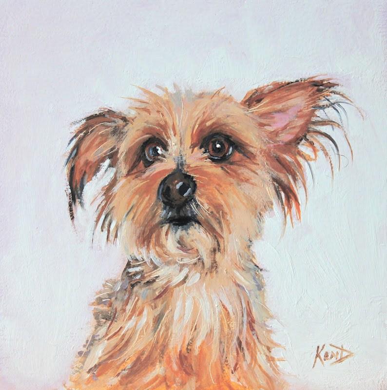 """Keith & Suzi's Little Rat"" original fine art by Ken Devine"