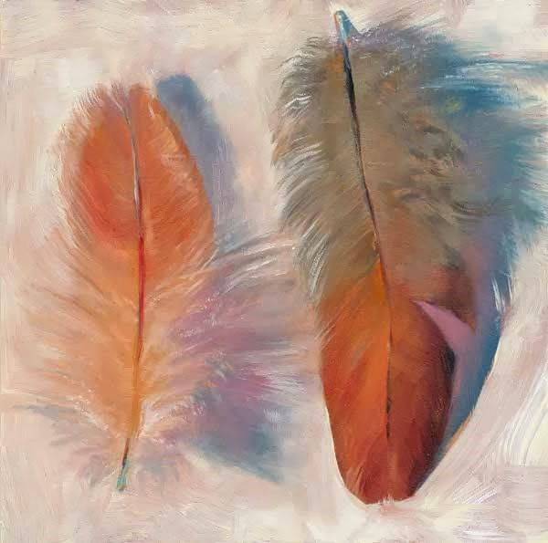 """Weightless"" original fine art by Brenda Ferguson"