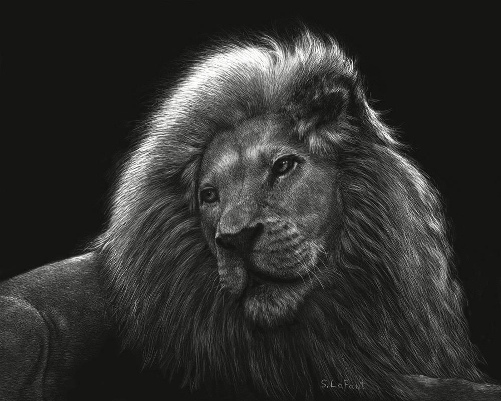 """Crowned With Glory"" original fine art by Sandra LaFaut"