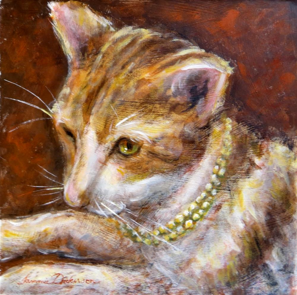 """Bejeweled"" original fine art by Tammie Dickerson"