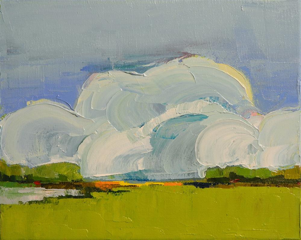 """Monumental Clouds II"" original fine art by Donna Walker"